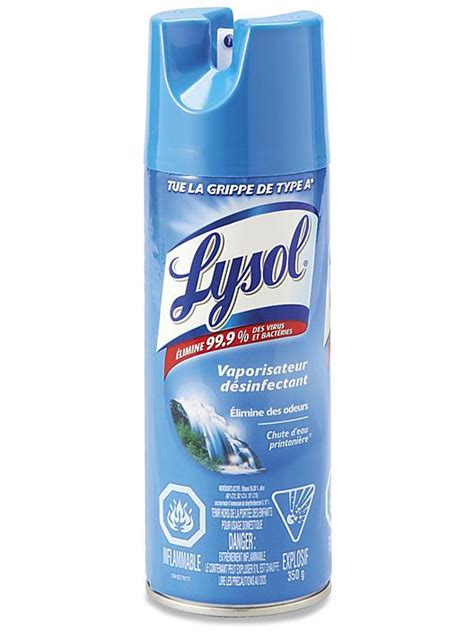 lysol disinfectant spray spring waterfall scent      uline
