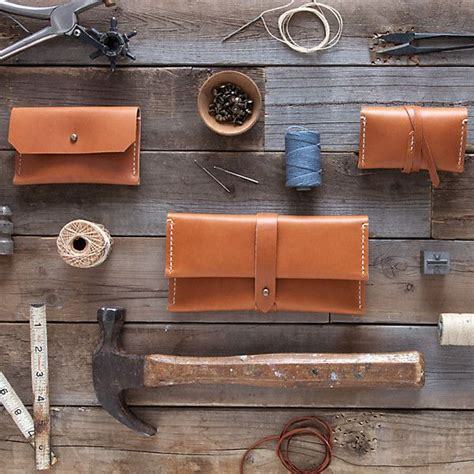 Leather Goods Handmade - 288 best images about leather stitch ideas on