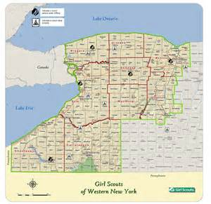 Map Of Western New York by Western New York Map