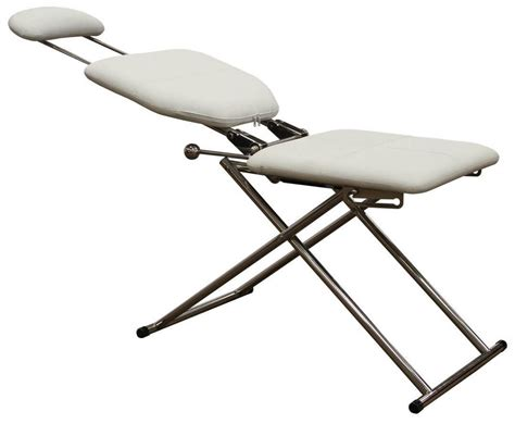 white portable chair portable barber chair chairs seating