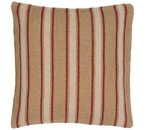 Why Do Pillows Go Flat by Conway Stripe Pillow Farmhouse And Cottage