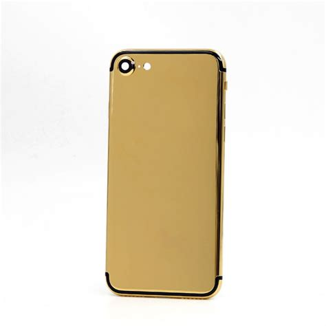 Plain For Iphone 7 iphone 7 24k gold housing plain