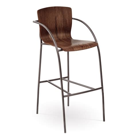 Bar Stool With Arms Pictured Here Is The Merritt Bar Stool With Arms Quality Forged Construction With Various