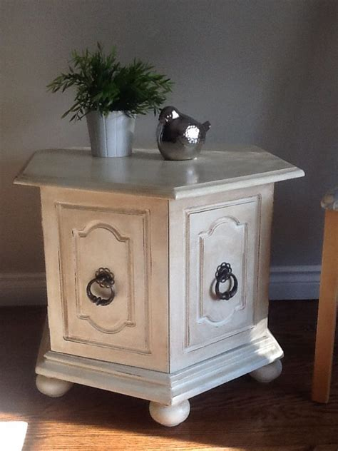 End Table Painted With Diy Chalk Paint Projects