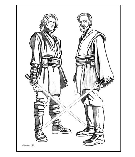 anakin skywalker coloring page coloring home