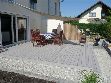 terrasse wohnfläche gallery of wpc terrasse mit beluchtung gartenbau paape