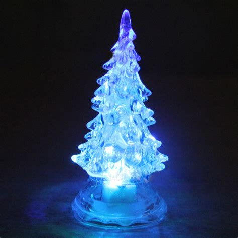 christmas tree night light crystal christmas tree led l color changing night