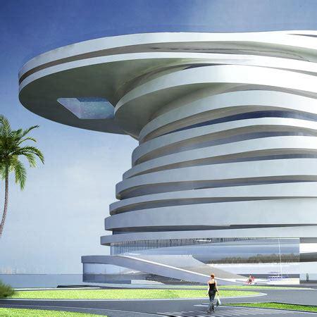 top ten architects helix hotel by leeser architecture dezeen