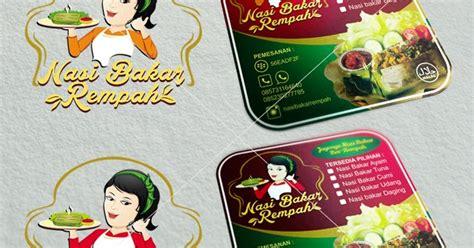 label produk nasi bakar rempahjasa desain kemasan produk