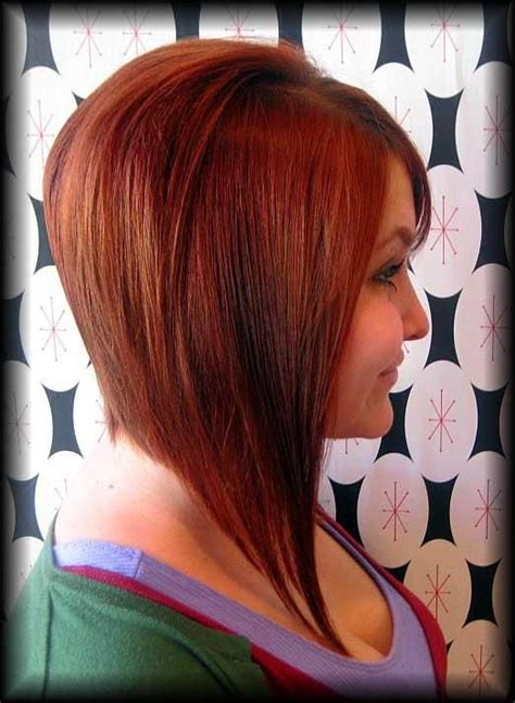 dramatic layered angled bob haircuts dramatic angled bob cut short hairstyle 2013