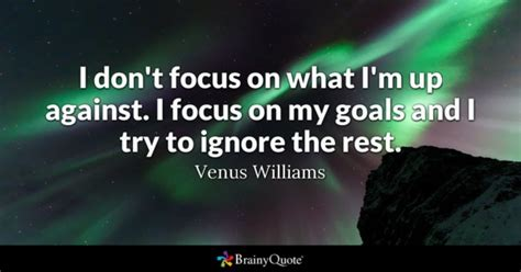 master your focus focus on what matters ignore the rest speed up your success books goals quotes brainyquote