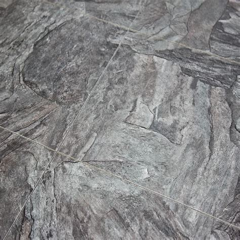 alloc commercial stone grey slate 11mm tile laminate flooring sle industrial laminate