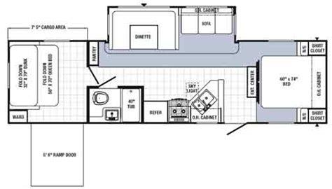 puma toy hauler floor plans amazing puma toy hauler floor plans contemporary