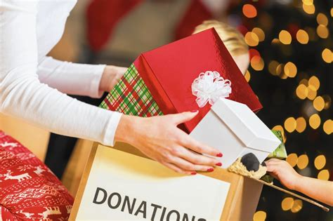 christmas gift donation charity how to tell someone you d prefer not to do gifts this year chicago tribune