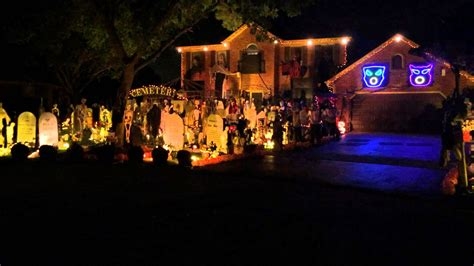 best halloween home decorations halloween 2014 light show queen bohemian rhapsody thomas