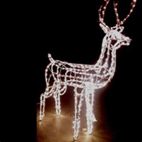 3d lighted reindeer
