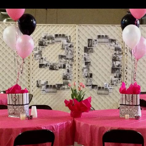 centerpieces for 90th birthday 90th birthday decorations celebrate in style