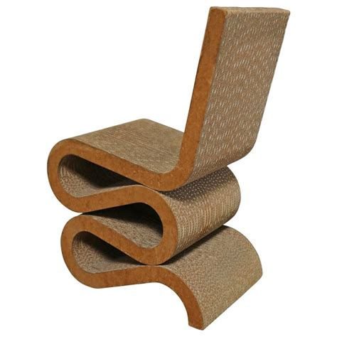 early quot wiggle quot chair by frank gehry at 1stdibs