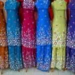 Mukena Katun Isyana Keren Trendy Murah Best Seller Fashion mukena bali lukis floral warna mukbal santung murah