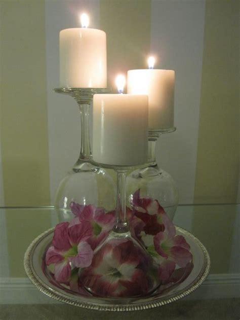 foto candela bicchieri candele fai da te ecco 20 idee stupende