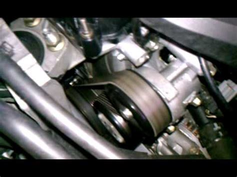 Fanbelt Mazda 2 Belum Skyactive mazda 3 2 3 engine bay noise resolved