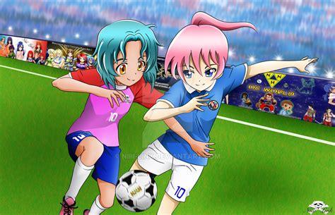 film cartoon football oc niiii link fc vs hura art fc by niiii link on deviantart