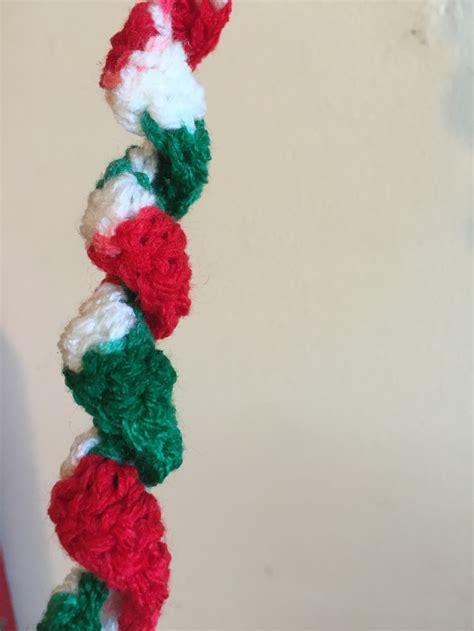 crochet pattern christmas garland crochet christmas garland pattern beanies weenies