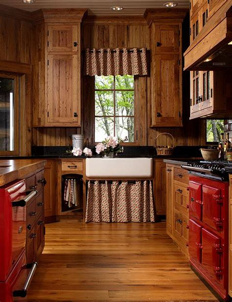 Rustic Country Kitchen Cabinets by Mountain Air Family Lodge Rustic Country Kitchens Lodge