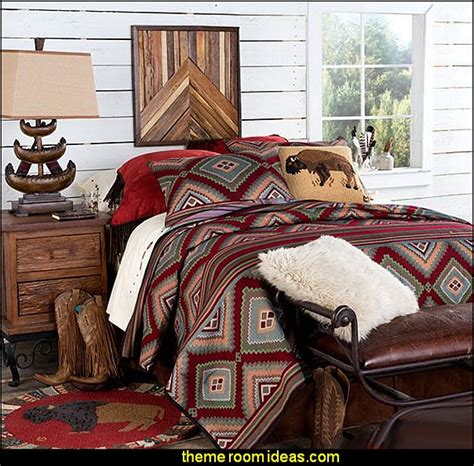 southwestern american indian mexican rustic style decorating theme bedrooms maries manor southwestern