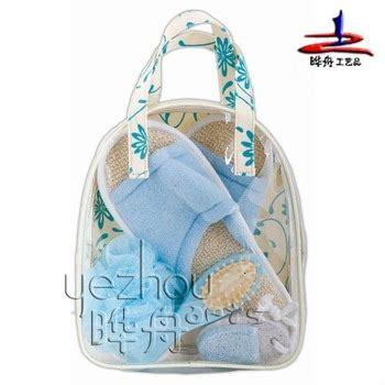 Product Shower Set Bag bath shower set in pvc bag with handle buy bath shower set showers and baths blue bathroom