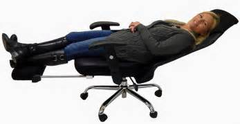 mesh back reclining office chair w footrest