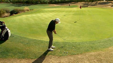 justin leonard golf swing justin leonard s bump and run short game tip golf channel
