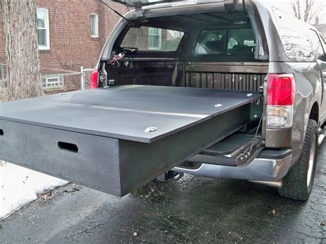 homemade truck bed organizer pictures diy bed storage system for my truck ain t