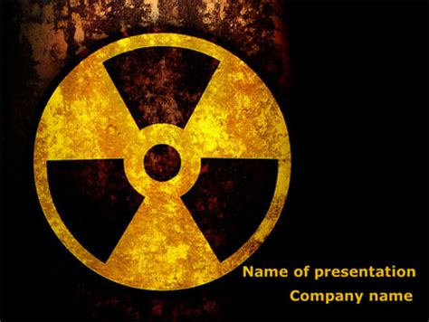 ppt templates for nuclear energy radioactivity presentation template for powerpoint and