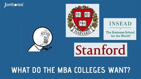 What Do Mba S Make by What Do Mba Colleges Look For In A Student S Application