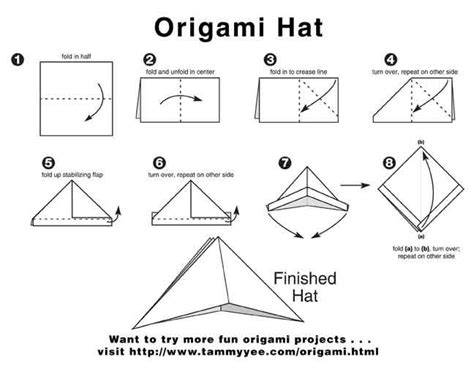 How To Make An Origami Pirate Hat - how to make a papper hat hats ideas reviews