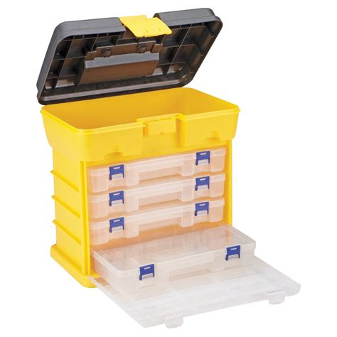 storage organizers toolbox organizer with 4 drawers