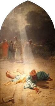 Who Was Blinded On The Road To Damascus The Story In Paintings The Road To Damascus And The
