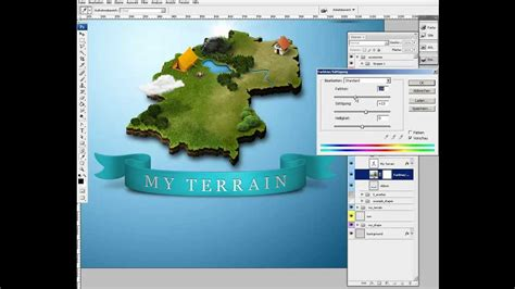 create 3d photos photoshop how to create 3d map