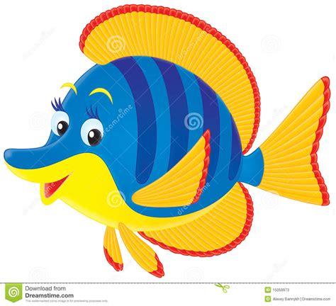 pesci clipart pesci di mare tropicali illustrazione di stock