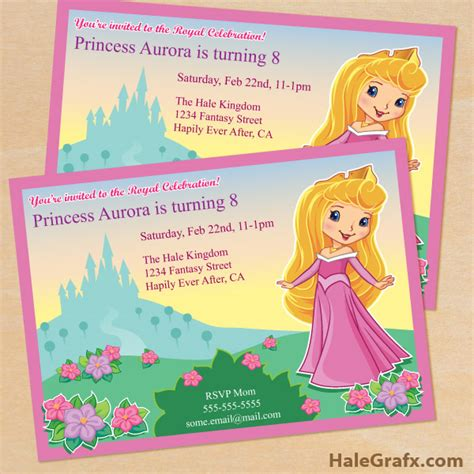 free printable princess birthday invitations free printable princess birthday invitation