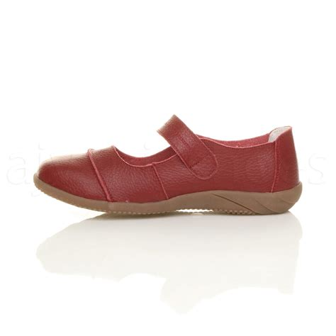 womens leather comfort walking casual sandals