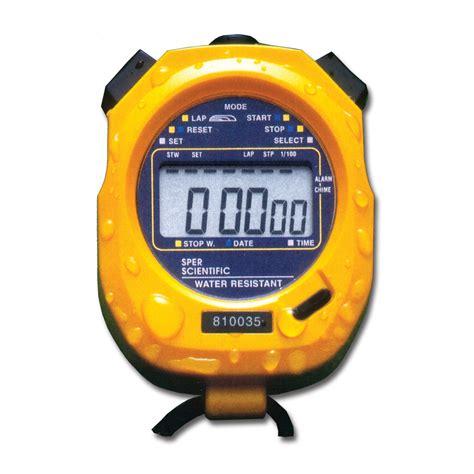 Original Kenmaster Stop Kontak Timer 24 Hours stopwatch large display water resistant sper scientific