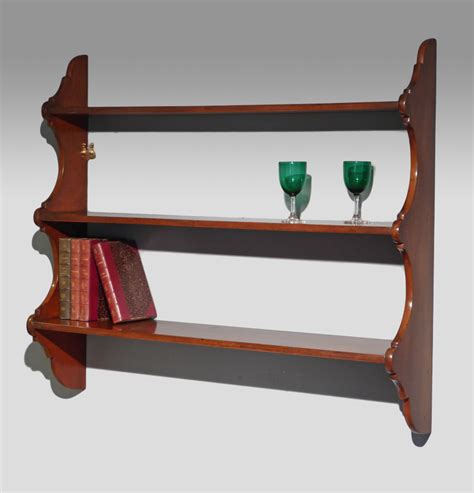 Antique Shelf by Antique Mahogany Shelves Wall Shelves Wall Shelf Wall