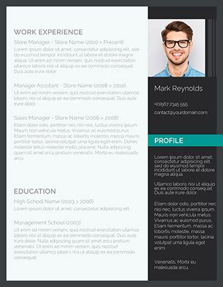 125 Free Resume Templates For Word Downloadable Freesumes Modern Professional Cv Template Word