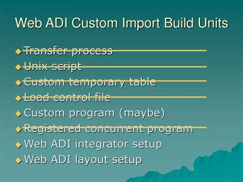 web adi layout ppt web adi integrators powerpoint presentation id 146612