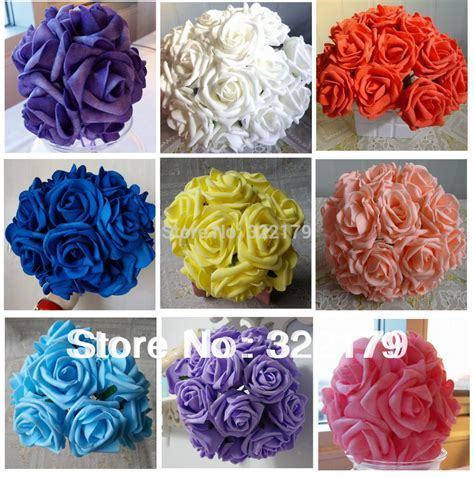 Aliexpress.com : Buy 100 Bridal Bouquet Real Touch