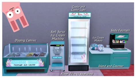 freezer bunny sims 4 my sims 4 blog freezer bunny ice cream stand and objects