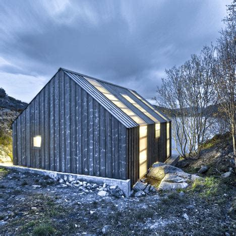 nordic boat house boathouse in aure openbuildings