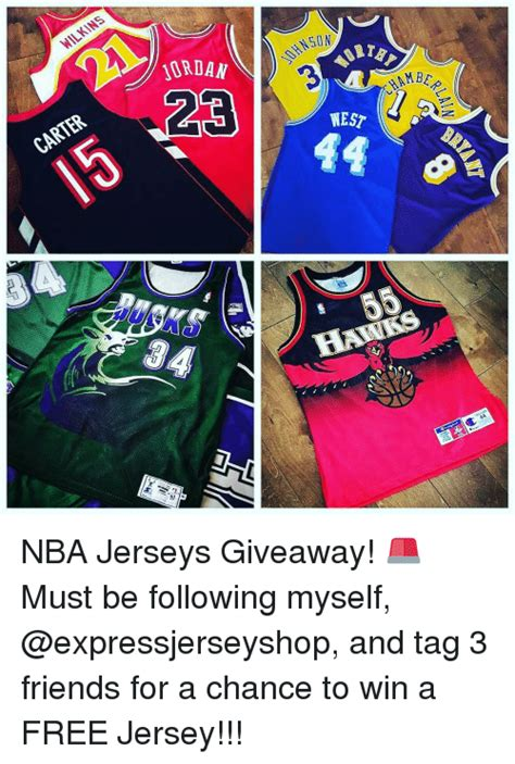 Nba Jersey Giveaway - wilkins carter maria mbe west 55 44 nba jerseys giveaway must be following
